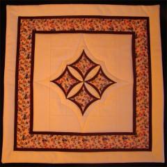 Polštář oranžový - VÝPLŇ V CENĚ, snímatelný povlak